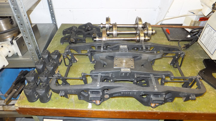 Parts removed for plain