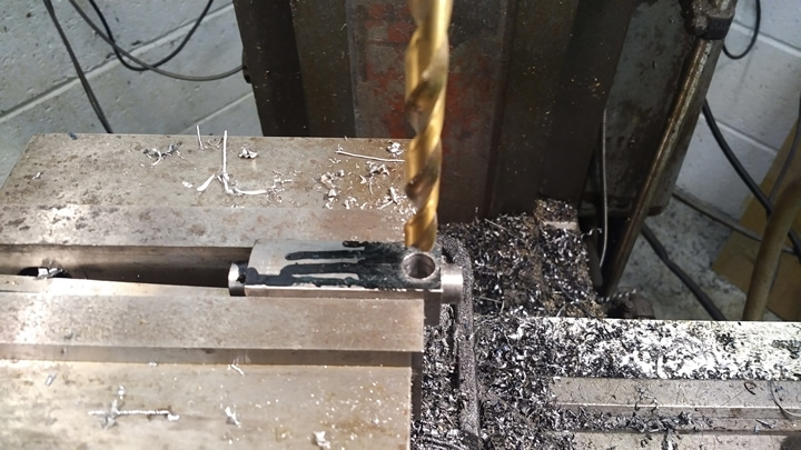 cross drilling block