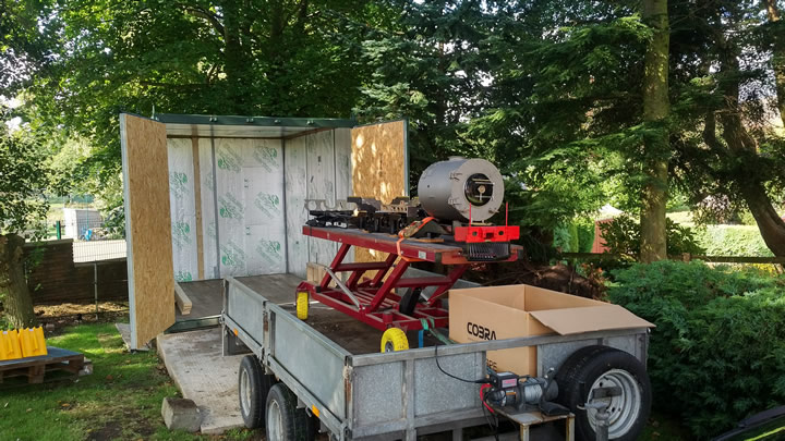 25NC on the move